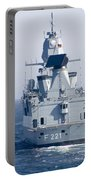 German Frigate Ffg Hessen And Uss Portable Battery Charger