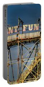 Giant Fun Fair Portable Battery Charger by Adrian Evans