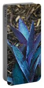 Giant Purple Wandering Jew 2 Portable Battery Charger