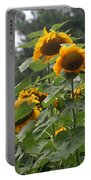 Giant Sunflowers Portable Battery Charger