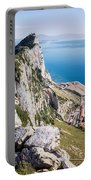 Gibraltar Rock And Mediterranean Sea Portable Battery Charger