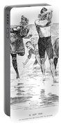 Gibson: Bathing, 1892 Portable Battery Charger