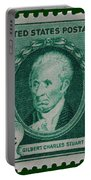 Gilbert Charles Stuart Postage Stamp Portable Battery Charger