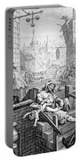 Gin Lane, William Hogarth Portable Battery Charger