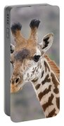 Giraffe Close-up Portable Battery Charger