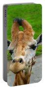 Giraffe In The Park Portable Battery Charger
