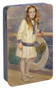 Girl In A Sailor Suit Portable Battery Charger