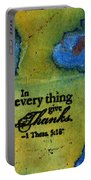 Giving Thanks Portable Battery Charger
