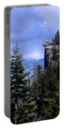 Glacier Point From Four Mile Trail Portable Battery Charger