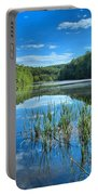 Glassy Waters Portable Battery Charger by Adam Jewell
