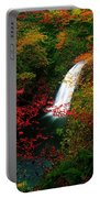 Glenoe Waterfall And Glen, Co Antrim Portable Battery Charger