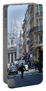 Glimpse Of Montmartre Portable Battery Charger