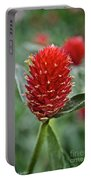 Globe Amaranth Portable Battery Charger