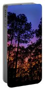 Glowing Forest Portable Battery Charger