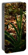 Glowing Iris Plant 3 Portable Battery Charger
