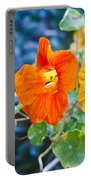 Glowing Nasturtiums 2 Portable Battery Charger