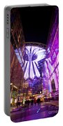 Glowing Sony Center Portable Battery Charger