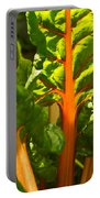 Glowing Swiss Chard Portable Battery Charger