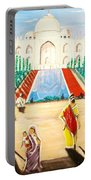 Going To The Taj. Portable Battery Charger