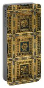 Gold Cathedral Ceiling Italy Portable Battery Charger