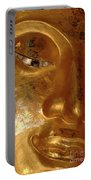 Gold Face Of Buddha Portable Battery Charger