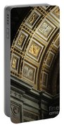 Gold Inlay Arches St. Peter's Basillica Portable Battery Charger