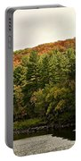 Gold Trimmed Trees Portable Battery Charger