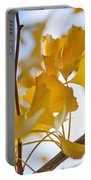Golden Autumn Portable Battery Charger by Kaye Menner
