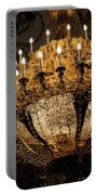 Golden Chandelier Portable Battery Charger