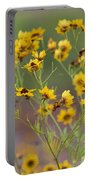Golden Coreopsis Tickseed Wildflowers Portable Battery Charger