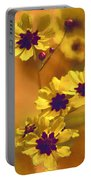 Golden Coreopsis Wildflowers  Portable Battery Charger