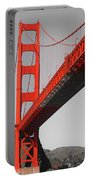 Golden Gate Bridge-touch Of Color Portable Battery Charger
