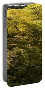 Golden Japanese Maple Portable Battery Charger
