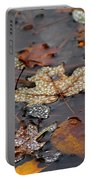 Golden Maple Dew Drops Portable Battery Charger