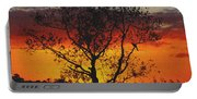 Golden Sunset Over Circle B Bar Sandstone Portable Battery Charger