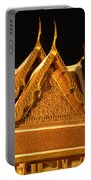 Golden Wat Temple Thailand Portable Battery Charger