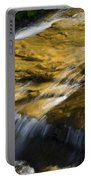 Golden Waterfall Glacier National Park Portable Battery Charger
