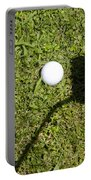 Golf Ball And Shadow Portable Battery Charger