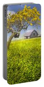 Good Morning Spring Portable Battery Charger by Debra and Dave Vanderlaan