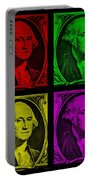 Gorge Washington In Colors Portable Battery Charger
