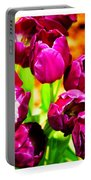 Gorgeous Tulips Portable Battery Charger