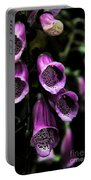 Gothic Bell Flower Portable Battery Charger