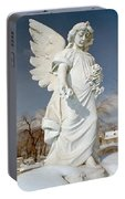 Gothic Blue Sky Portable Battery Charger