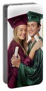 Graduation Couple Portable Battery Charger