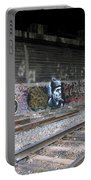 Graffiti - Under Over Railyard Portable Battery Charger