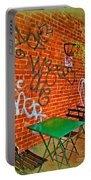 Grafitti Dining Portable Battery Charger