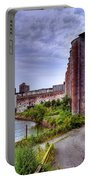 Grain Silos In Summer Portable Battery Charger