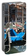 Grand Canal Gondolas Painting Portable Battery Charger