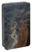 Grand Canyon-aerial Perspective Portable Battery Charger