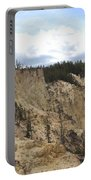 Grand Canyon Cliff In Yellowstone Portable Battery Charger